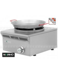 Rechaud Paella Gaz ELPA-41G Eco-Line MAINHO M04-ELPA41G MAINHO® Gamme ECO-LINE pour Cuisine Compacte ou Food-Truck