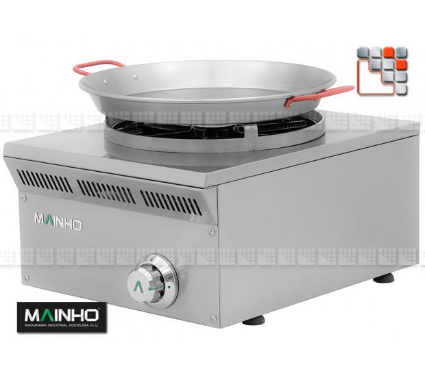 Rechaud Paella Gas ELPA-41G Eco-Line Mainho M04-ELPA41G MAINHO® ECO-LINE MAINHO Food Truck