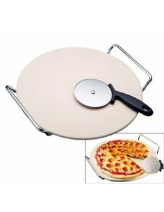 Stone and Pizza Wheel Cutter Set D15-KDO8570 A la Plancha® Barbecues Oven Accessories