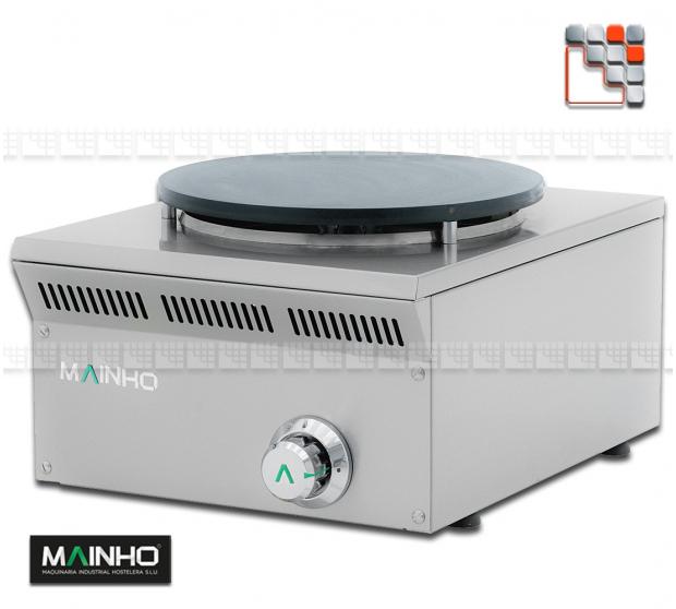 Crepiere ELC-41G Gaz Eco-Line Mainho ELC-41G MAINHO® ECO-LINE MAINHO Food Truck