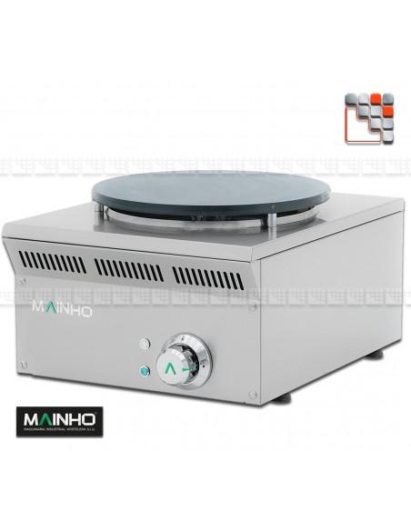 Crepiere ELC-41EM Eco-Line 230V MAINHO M04-ELC41EM MAINHO® Gamme ECO-LINE pour Cuisine Compacte ou Food-Truck