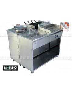 Kitchen Stainless steel serie ECO-LINE 240 MAINHO M04-ELX240 MAINHO® ECO-LINE MAINHO Food Truck