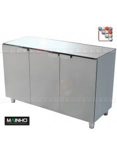 Meuble Inox ELM Eco-Line MAINHO M04-ELM MAINHO SAV - Accessoires Dessertes & Chariots Bois Inox