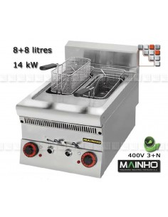 Friteuse Electric Super-Line 65 MAINHO M04-SLF42ET MAINHO® Friteuse Wok Four Vapeur