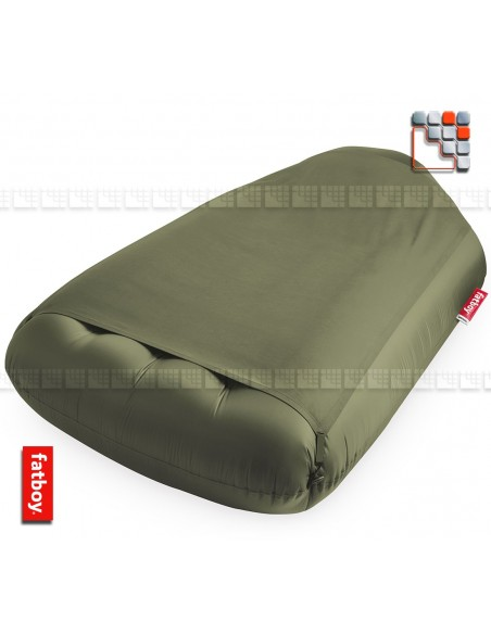 Matelas gonflable Fatboy® Lamzac L Deluxe  Vert Olive