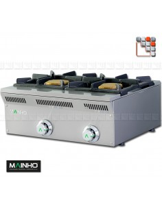Gaz ELE-62G Eco-Line MAINHO M04-ELE62G  Gamme ECO-LINE pour Cuisine Compacte ou Food-Truck