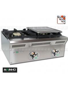 Plancha ELPF Eco-Line MAINHO M04-ELPF MAINHO® Gamme ECO-LINE pour Cuisine Compacte ou Food-Truck