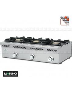 Rechaud Gaz ELE-93G Eco-Line MAINHO M04-ELE93G MAINHO® Gamme ECO-LINE pour Cuisine Compacte ou Food-Truck