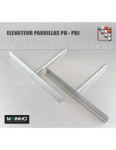 Jeu de Pieces Grille Elevateur PB-PBI MAINHO M36-ZPBI60 MAINHO SAV - Accessoires Pièces détachées Gaz MAINHO