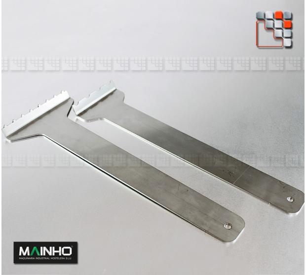 304 stainless steel scraper MAINHO BBQ grill M36-RCL MAINHO SAV - Accessoires MAINHO Spares Parts Gas