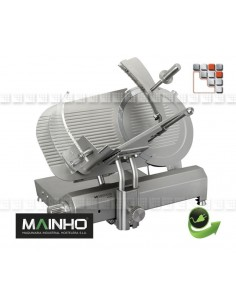 Stainless steel Slicer TGI-350 230V Mainho M04-TGI350 MAINHO® Manuals Slicers BERKEL & SWEDLINGHAUS