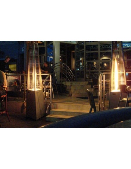 Chauffage de Terrasse Gaz Flamme O53-8530052 FAVEX Chauffage de Terrasse