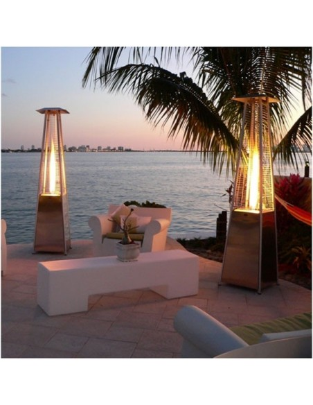 Gas Flame Terrace Heating O53-8530052 FAVEX Outdoor Patio Heater