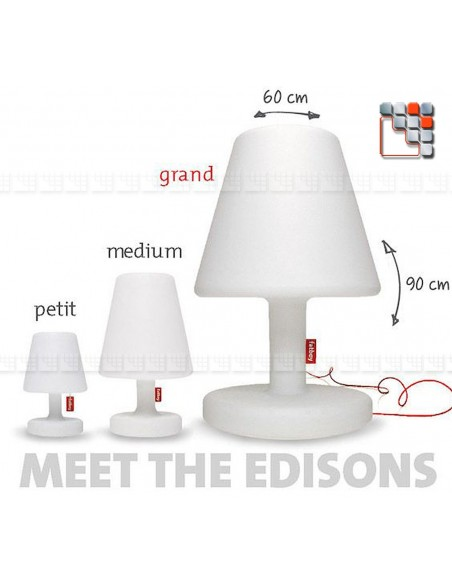 Fatboy® Lamp Edison The Medium F49-103066 FATBOY THE ORIGINAL® Patio & Garden Lighting