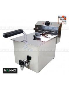 Fryer FRE 8V - 8L 3.3 kW MAINHO M04-FRE8V MAINHO® Fryers Wok Steam-Oven