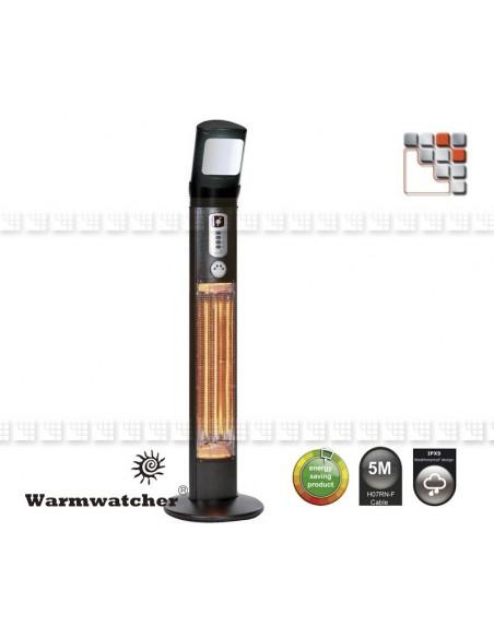 Column Heating APOLLO W09-HAP12 Warmwatcher® Outdoor Patio Heater