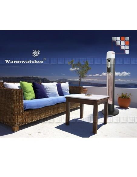 Colonne Chauffante DIANA W09-HDI12 Warmwatcher® Chauffage de Terrasse