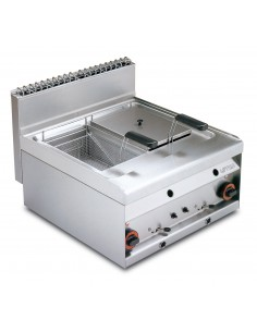 Friteuse FQ-6G 10+10L FR-65 LOTUS L23-FQ6G LOTUS® Food Catering Equipment Friteuse Wok Four Vapeur