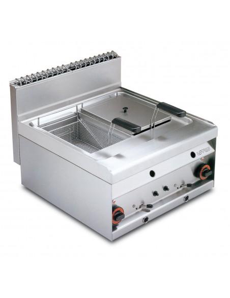 Fryer FQ-6G 10+10L EN-65 LOTUS L23-FQ6G LOTUS® Food Catering Equipment Fryers Wok Steam-Oven