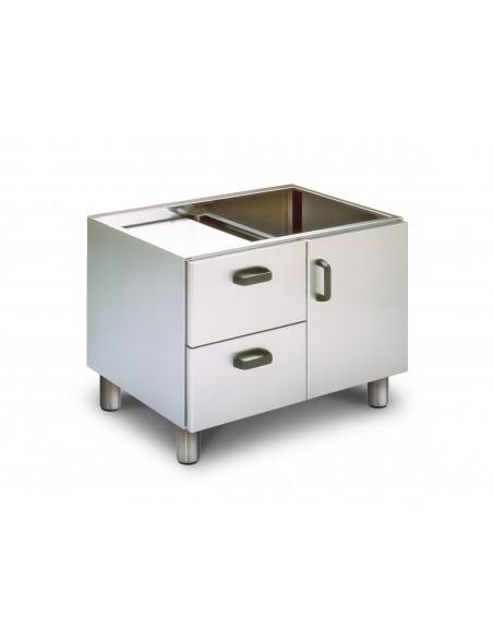 Stainless steel LOTUS L23-MCP LOTUS® Food Catering Equipment Fryers Wok Steam-Oven