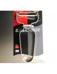 Eplucheur Double Lame LACOR 503AC60347 Lacor® Découpe