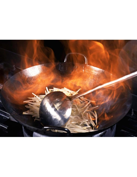 Wok W-100 furniture gastro stainless steel Mainho M04-W100S MAINHO® Fryers Wok Steam-Oven