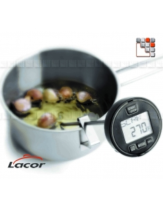 Thermometer Multifunction with alarm Lacor L10-62489 LACOR® Barbecues Oven Accessories