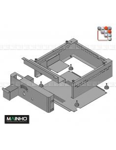 Front Stainless steel Carter Range NS NC Mainho M36-AVZ02020 MAINHO SAV - Accessoires MAINHO Spares Parts Gas