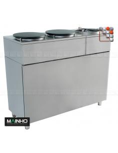 Panneau AR Meuble Inox Eco-Line MAINHO M04- MAINHO® Gamme ECO-LINE pour Cuisine Compacte ou Food-Truck