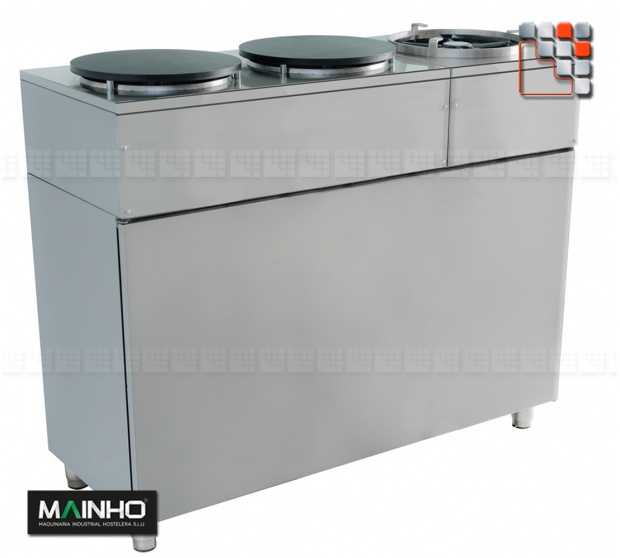 Stainless steel Rear cover Eco-Line Mainho M36- MAINHO® ECO-LINE MAINHO Food Truck