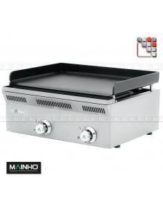 Plancha ELP-62EM Eco-Line 230V MAINHO M04-ELP62EM MAINHO® Gamme ECO-LINE pour Cuisine Compacte ou Food-Truck