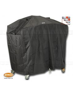 Housse anti-UV 120 x 60 x 87 cm ENO HCI-120 ENO sas Accessoires Planchas ENO et Chariots Bois Inox