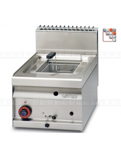 Friteuse FQ-4G 10L FR-65 LOTUS L23-FQ4G LOTUS® Food Catering Equipment Friteuse Wok Four Vapeur