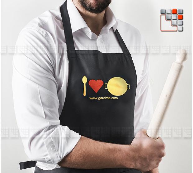 Tablier Paella Maestro Garcima G46-PG46 GARCIMA® LaIdeal Housses & Protections