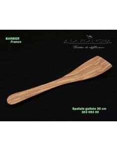 Spatule Galbee L30 en bois d'olivier LB B18-303093 LAURENT BARBIER France Art de la table