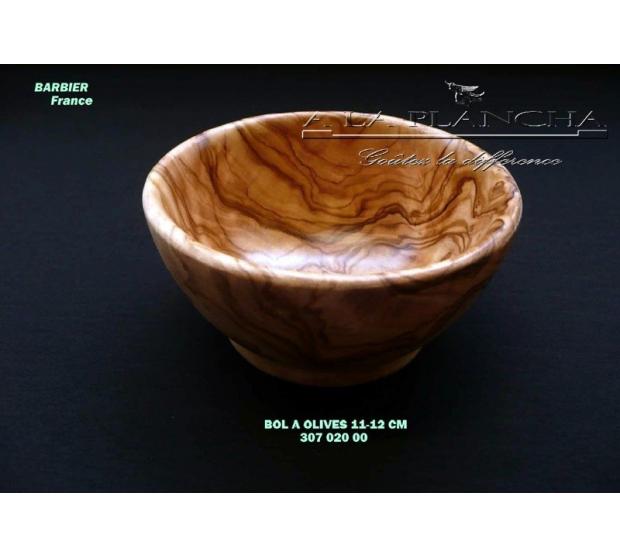 Bol à Tapas en Bois d'Olivier D12 LB B18-7020 LAURENT BARBIER France Art de la table