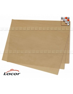 3 Feuilles Anti-Adhesive 30x40cm Lacor L10-66746  Cuisson