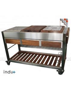 OFFRE TomBoy Ultimo Noyer Indu+ I24-130030002X INDU+® nv/sa Cuisine d'été INDU+