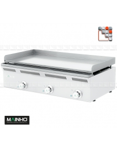 Plate Griddle Hard Chrome plancha ECO-LINE M36-ZPLECL200132 MAINHO SAV - Accessoires MAINHO Spares Parts Gas