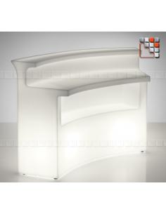 Bar Lumineux Nemo - Element Rond V50-82729  Mobilier Exterieur - Ombrage