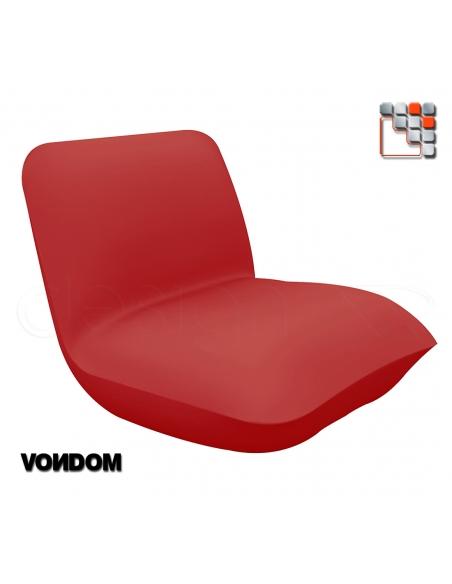 Chair design Pillow VONDOM V50-55001  Shade Sail - Outdoor Furnitures