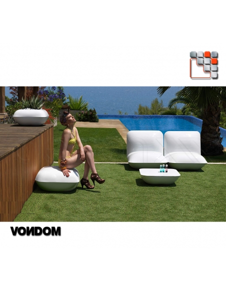 Table Basse Pillow VONDOM V50-55002  Mobilier Exterieur - Ombrage