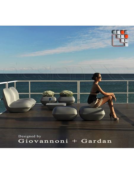 Pouf Pillow VONDOM V50-55003  Shade Sail - Outdoor Furnitures