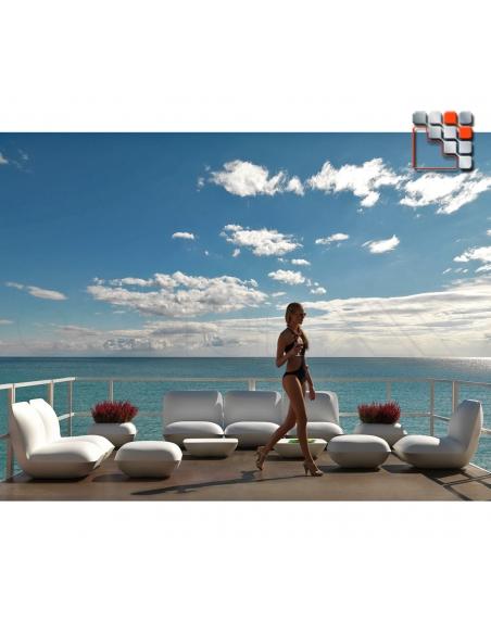 Pouf Pillow VONDOM V50-55003  Mobilier Exterieur - Ombrage