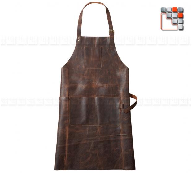 Tablier Cuir Patagon A17-TBL120079 A la Plancha® Textiles et Cuirs