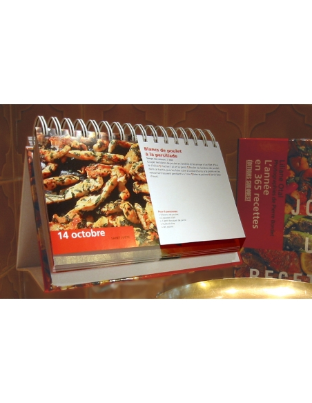 One Day, A Recipe For Perpetual Calendar A17-ED03 A la Plancha® Editions and Publications