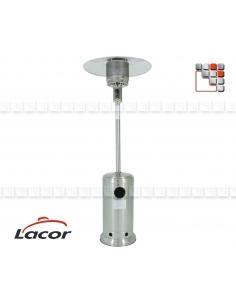 Chauffage Terrasse Inox Gaz LACOR L10-69400F LACOR® Chauffage de Terrasse