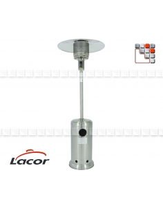 Heating Terrace Inox Gas LACOR L10-69400F LACOR® Outdoor Patio Heater