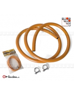Blister pack Gas pipe AFNOR standards C06-80001 GARCIMA La Ideal - Accessoires Gas accessories