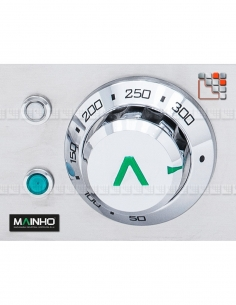 Bouton de Commande chromé MAINHO M36-012 MAINHO SAV - Accessoires Pièces détachées MAINHO